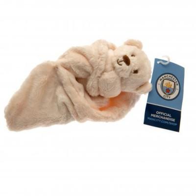 Манчестер Сити Детское одеяло Медвежонок