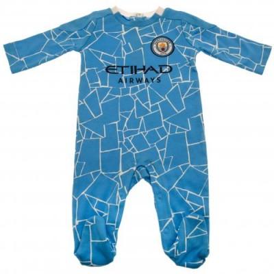 Манчестер Сити Спальный костюмчик 12/18 месяцев