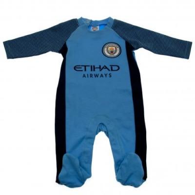 Манчестер Сити Спальный костюмчик 9/12 месяцев ST