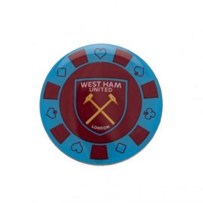 Вест Хэм Значок Покерная фишка