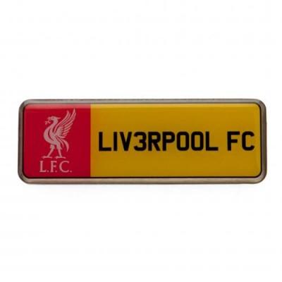 Ливерпуль Значок Номерной знак