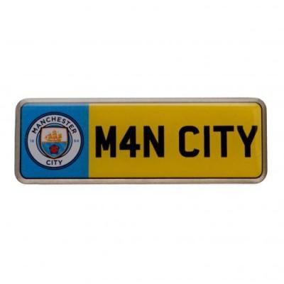 Манчестер Сити Значок Номерной знак