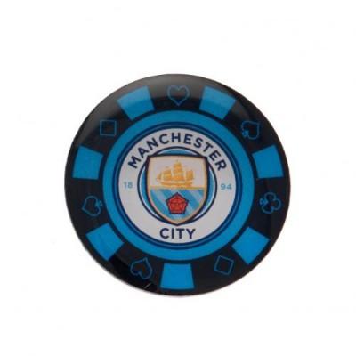 Манчестер Сити Значок Покерная фишка