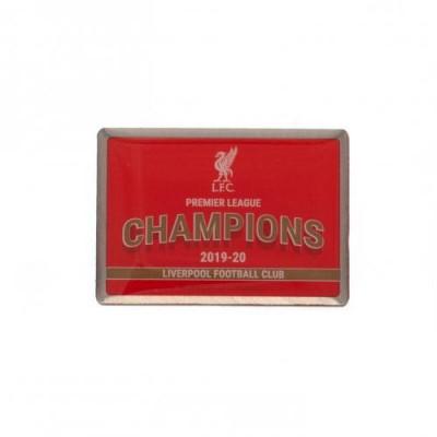 Ливерпуль Значок Чемпионы Англии 19-20