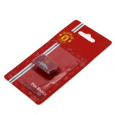Манчестер Юнайтед Значок Двойные Чемпионы
