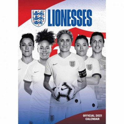 Англия Lionesses Календарь 2021