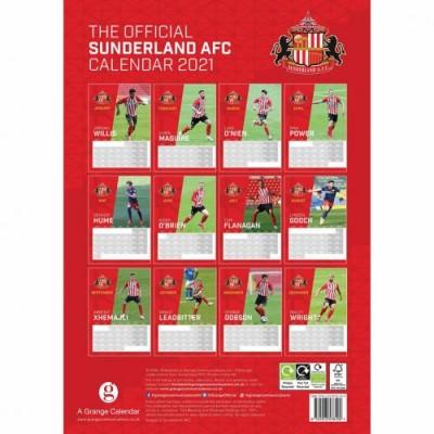 Сандерленд Календарь 2021