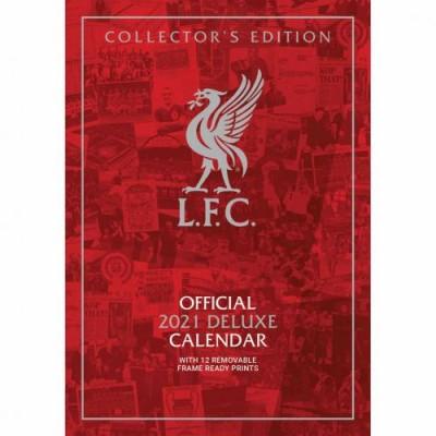 Ливерпуль Календарь Deluxe 2021