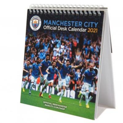 Манчестер Сити Настольный календарь 2021