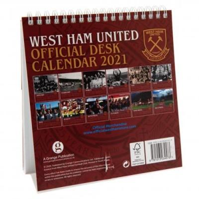 Вест Хэм Настольный календарь 2021