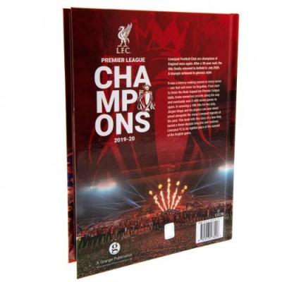 Ливерпуль Ежегодник Чемпионы Англии 19-20
