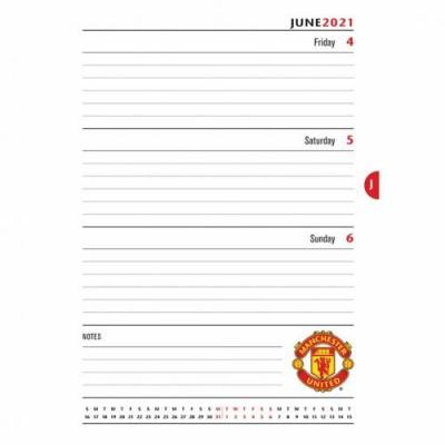 Манчестер Юнайтед Ежедневник 2021