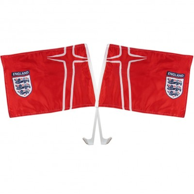Англия FA флажок на окно Away (двойной)