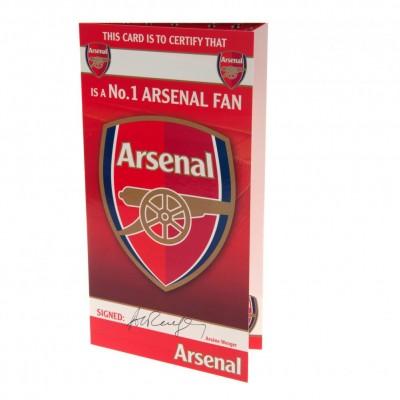 Арсенал Поздравительная открытка №1 FAN