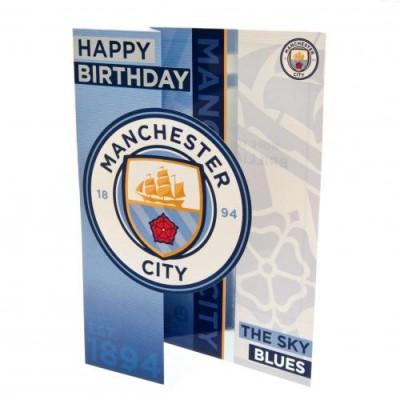 Манчестер Сити Поздравительная открытка