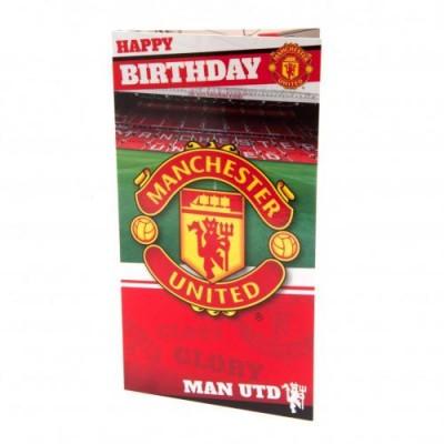 Манчестер Юнайтед Поздравительная открытка