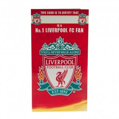 Ливерпуль Поздравительная открытка №1 FAN