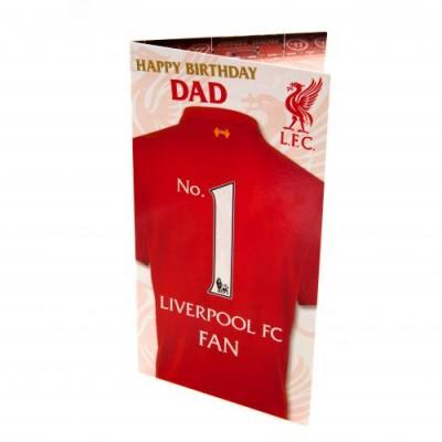 Ливерпуль Поздравительная открытка DAD
