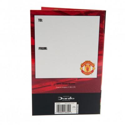 Манчестер Юнайтед Поздравительная открытка (стадион)