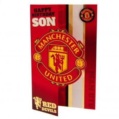 Манчестер Юнайтед Поздравительная открытка Son