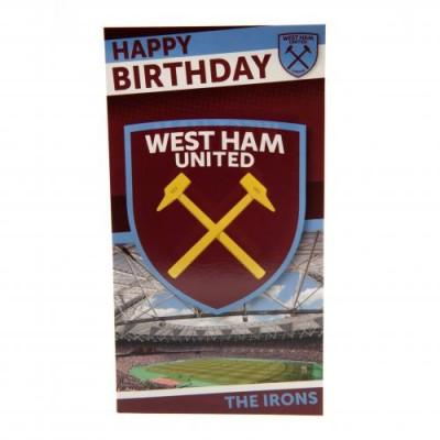 Вест Хэм Поздравительная открытка