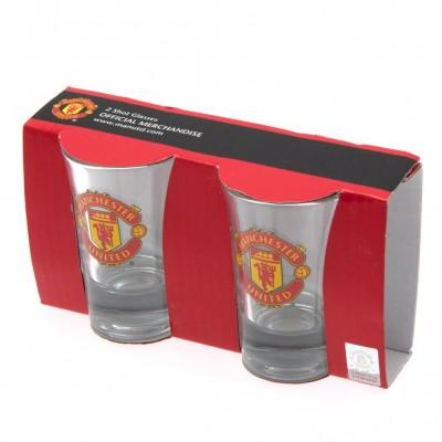 Манчестер Юнайтед Набор из 2-х рюмок