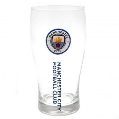 Манчестер Сити Пивной стакан тюльпан