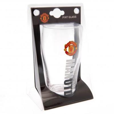 Манчестер Юнайтед Пивной стакан тюльпан