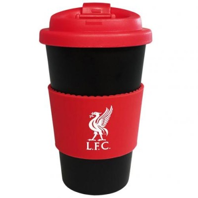 Ливерпуль Пластиковый стакан с силиконовой вставкой
