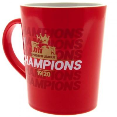Ливерпуль Бокал Чемпионы Англии 19-20 с золотым принтом