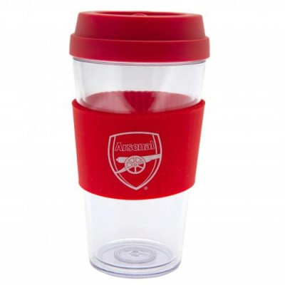 Арсенал Пластиковый стакан с силиконовой вставкой