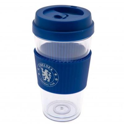 Челси Пластиковый стакан с силиконовой вставкой