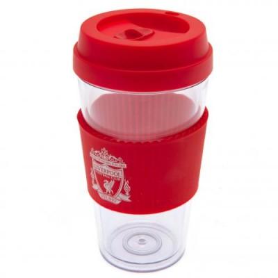 Ливерпуль Пластиковый стакан с силиконовой вставкой CR