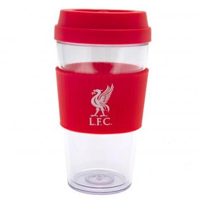 Ливерпуль Пластиковый стакан с силиконовой вставкой LB