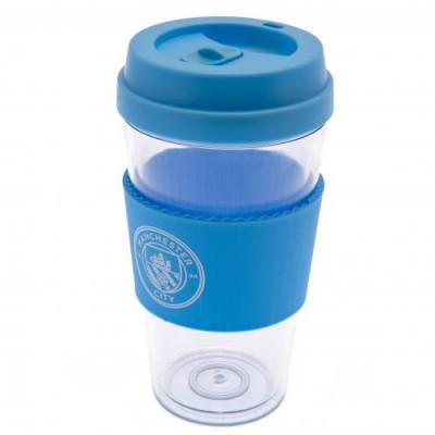 Манчестер Сити Пластиковый стакан с силиконовой вставкой