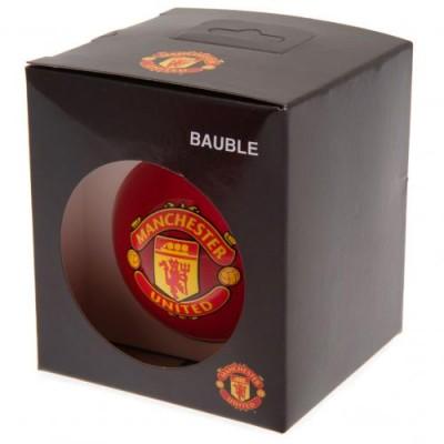 Манчестер Юнайтед Игрушка Шар стеклянный