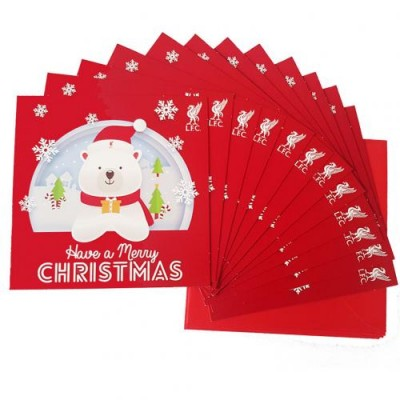 Ливерпуль Рождественские открытки