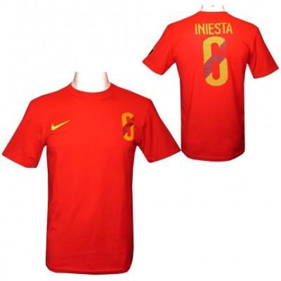 Iniesta Футболка мужская Nike L