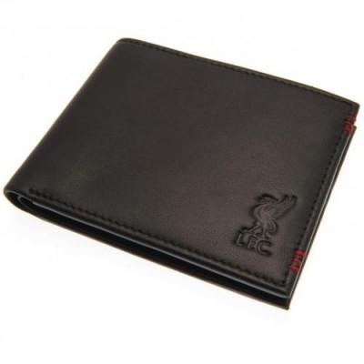 Ливерпуль Кожаный бумажник с прострочкой