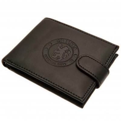 Челси Кожаный бумажник Антифрод