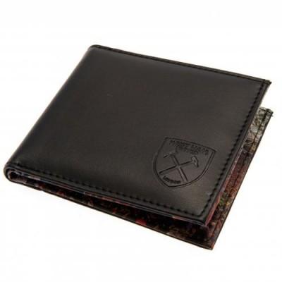 Вест Хэм Кожаный бумажник Панорамный