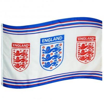 Англия FA Флаг 3 эмблемы