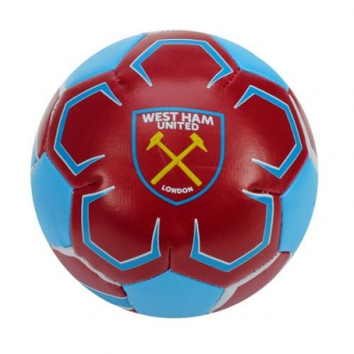 Вест Хэм Футбольный 4-дюймовый мягкий мяч