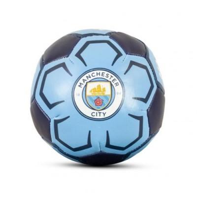 Манчестер Сити Футбольный 4-дюймовый мягкий мяч
