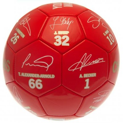 Ливерпуль Футбольный мяч Чемпионы Англии 19-20 Signature RG
