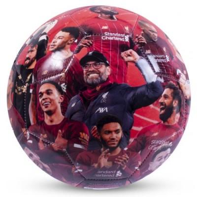 Ливерпуль Футбольный мяч с фотографиями Чемпионы Англии 19-20
