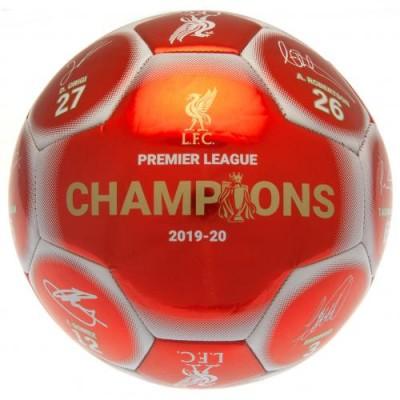 Ливерпуль Футбольный мяч Чемпионы Англии 19-20 Signature RW
