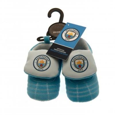 Манчестер Сити Детские ботинки на липучке 9/12 месяцев