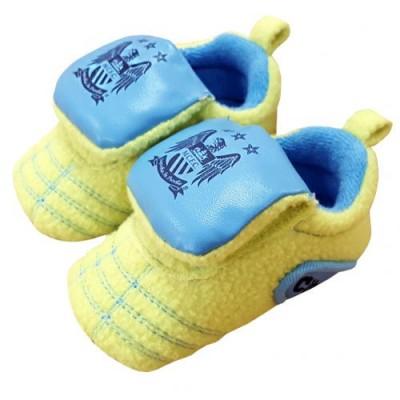Манчестер Сити Детские ботинки на липучке 9/12 месяцев Neon