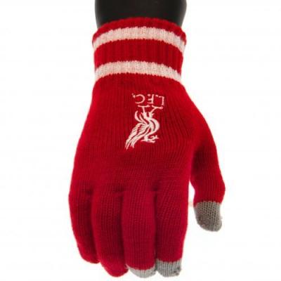 Ливерпуль Трикотажные перчатки Touchscreen RD (взрослые)